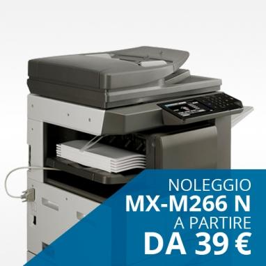 Noleggio stampante Sharp MX 266N da 39€